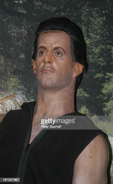 Sylvester Stallone im Film 'Rambo' Wax Museum Wachsfigur Los Angeles LA Kalifornien Californien USA Amerika Nordamerika Reise Hollywood Schauspieler...