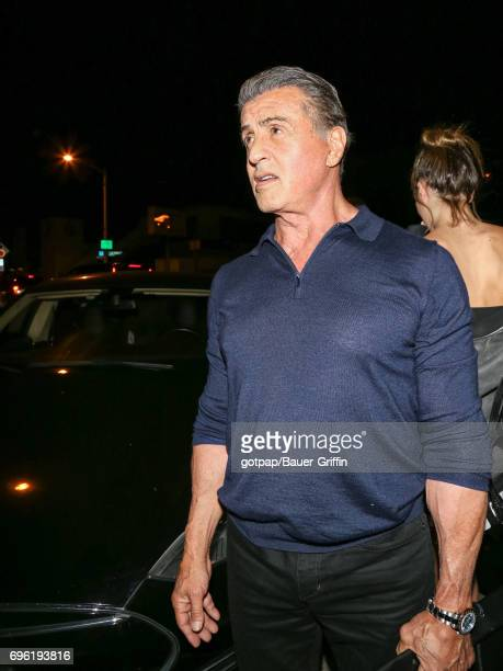 Sylvester Stallone is seen on June 14 2017 in Los Angeles California