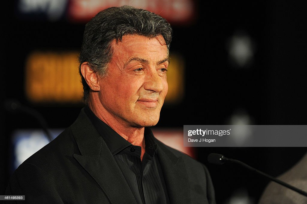 Sylvestor Stallone attends a photo call for 'Grudge Match' at The Dorchester Hotel on January 9, 2014 in London, England.