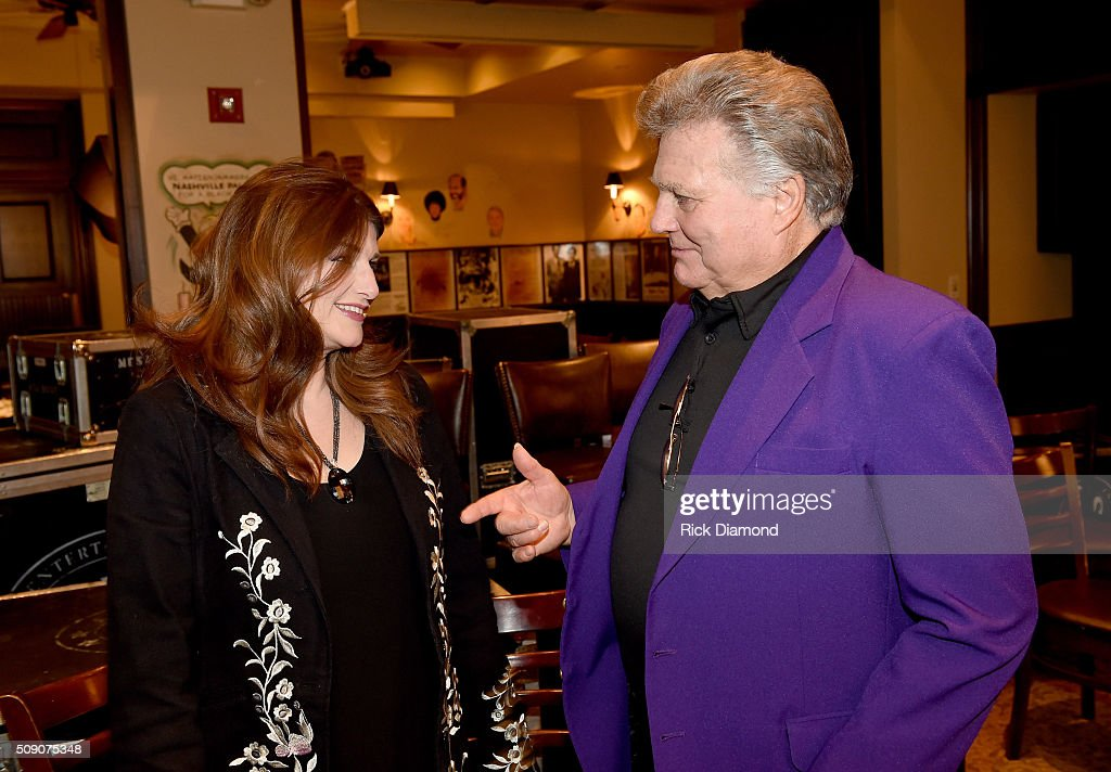 Sylvia and Leroy Van Dyke attend the 2nd Annual Legendary Lunch presented by Webster Public Relations and CMA at The Palm Restaurant on February 8, 2016 in Nashville, Tennessee.