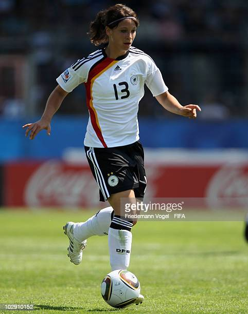 Sylvia Arnold of Germany in action during the FIFA U20 Women's World Cup Group A match between Germany and Costa Rica at the FIFA U20 Women's Worl...