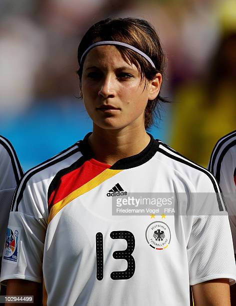 Sylvia Arnold of Germany poses during the FIFA U20 Women's World Cup Group A match between Germany and Colombia at the FIFA U20 Women's Worl Cup...
