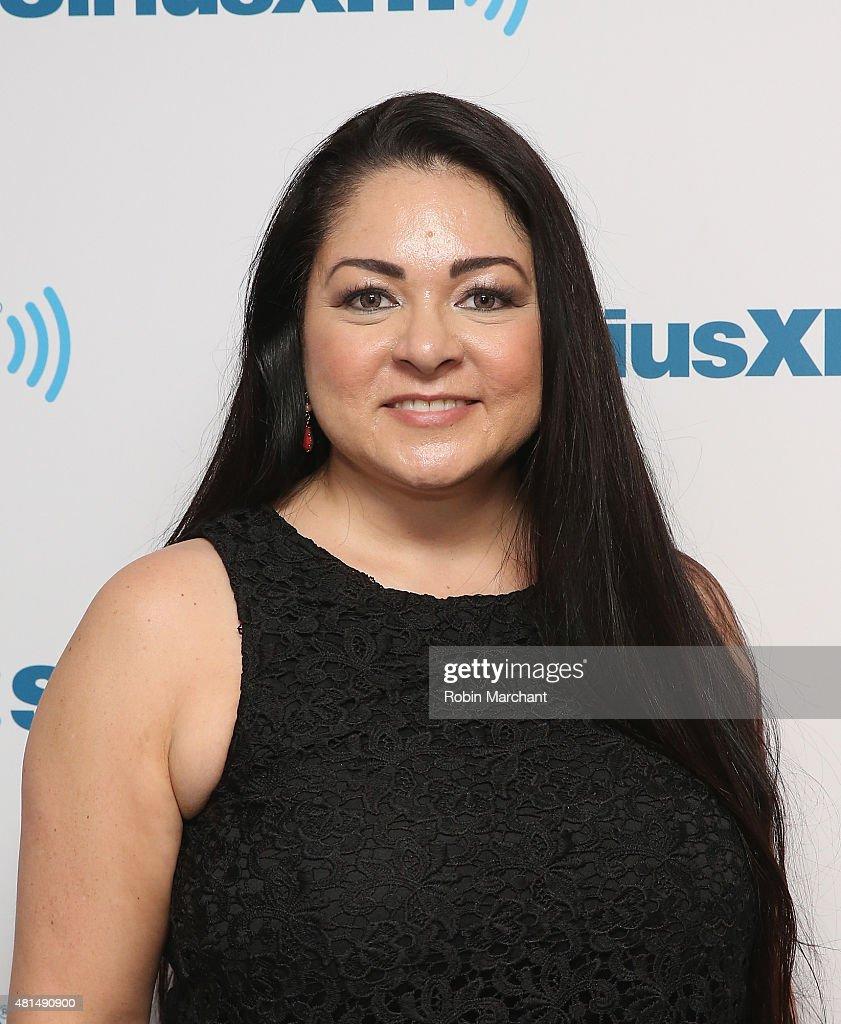 Sylvia Day visits at SiriusXM Studios on July 21, 2015 in New York City.