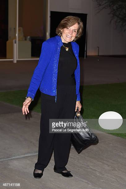 Sylvia Earle arrives to attend 'Prince Albert II of Monaco's Foundation' Award Ceremony on October 12 2014 in Palm Springs California