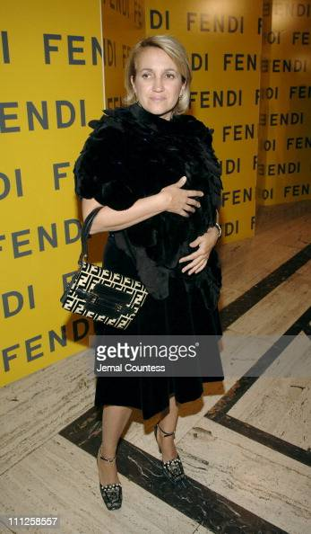 Sylvia Fendi during Fendi Presents 'The All Hollows Eve Party' at 25 Broadway in New York City New York United States