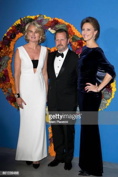 Sylvia Flatto Rob Ashford and his wife CoPresident of the Opening Gala Kinga Lampert attend the Opening Season Gala at Opera Garnier on September 21...