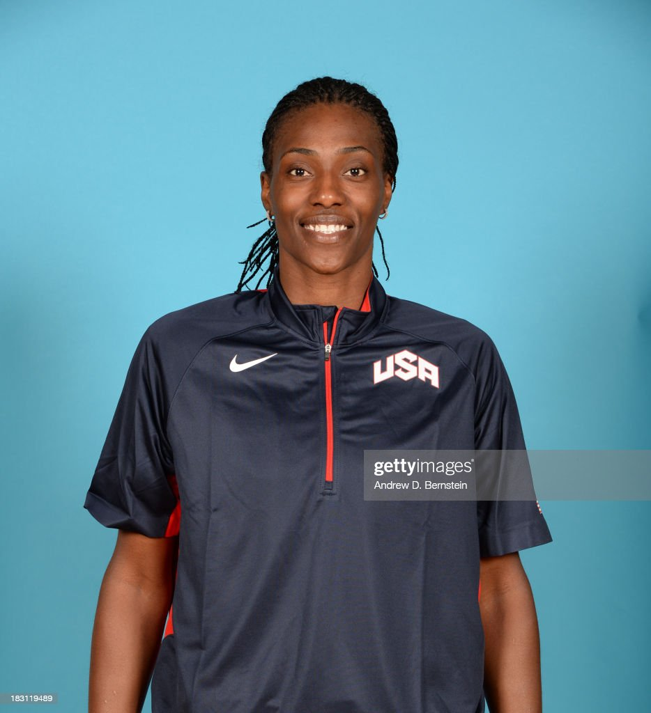 Sylvia Fowles poses for a head shot during the USA Womens National Team Mini-Camp on October 4, 2013 at the Cox Pavilion in Las Vegas, Nevada.