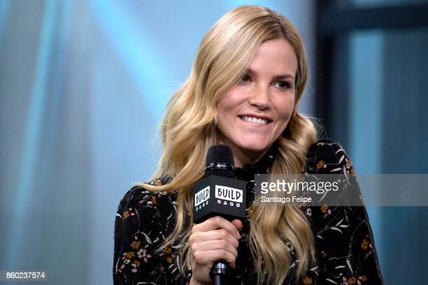 Sylvia Hoeks attends Build Presents to discuss the film 'Blader Runner 2049' at Build Studio on October 11 2017 in New York City