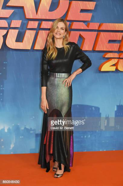 Sylvia Hoeks attends the 'Blade Runner 2049' photocall at The Corinthia Hotel on September 21 2017 in London England