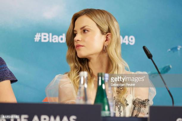 Sylvia Hoeks is seen at a press panel at Hotel Adlon on September 18 2017 in Berlin Germany