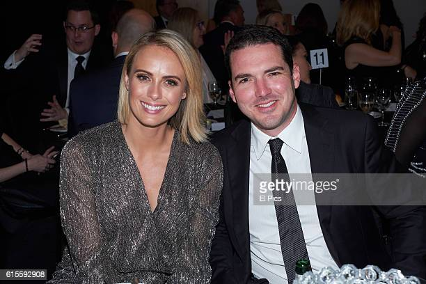 Sylvia Jeffreys and Peter Stefanovic attends the 2016 Andrew Olle Media Lecture on October 14 2016 in Sydney Australia