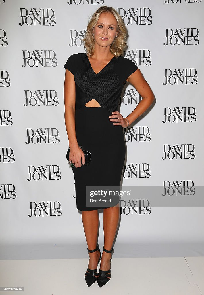 Sylvia Jeffries arrives at the David Jones Spring/Summer 2014 Collection Launch at David Jones Elizabeth Street Store on July 30, 2014 in Sydney, Australia.