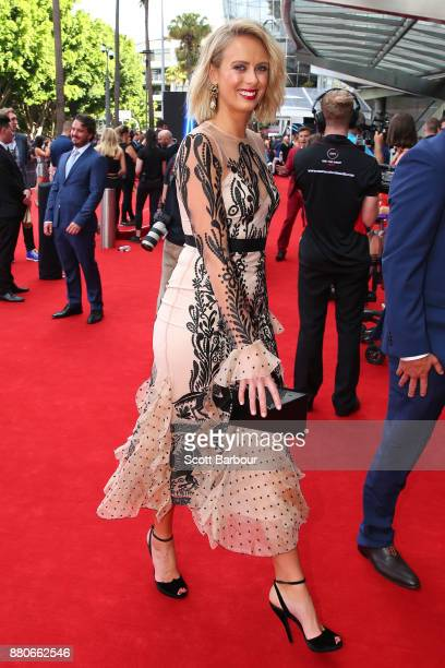 Sylvia Jefferies arrives for the 31st Annual ARIA Awards 2017 at The Star on November 28 2017 in Sydney Australia
