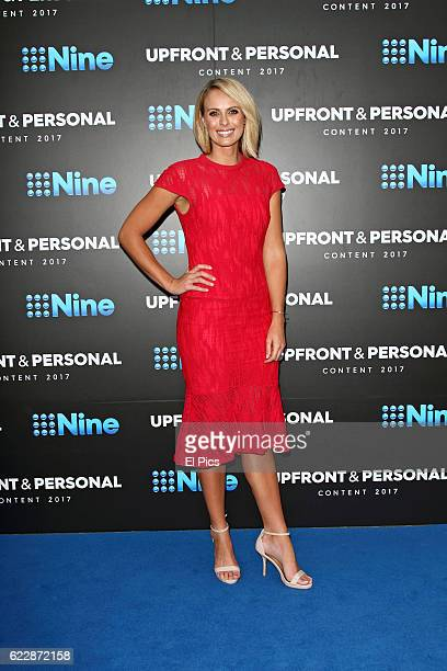 Sylvia Jeffreys poses during the Channel Nine Up fronts at The Star on November 8 2016 in Sydney Australia