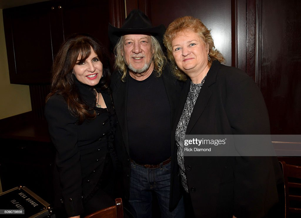 Sylvia, John Anderson, and Lorraine Jordan attend the 2nd Annual Legendary Lunch presented by Webster Public Relations and CMA at The Palm Restaurant on February 8, 2016 in Nashville, Tennessee.