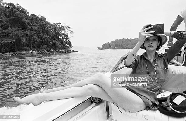 Sylvia Kristel in Rio