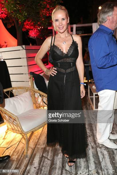 MUNICH GERMANY JUNE 26 Sylvia Leifheit during the Movie meets Media Party during the Munich Film Festival on June 26 2017 in Munich Germany