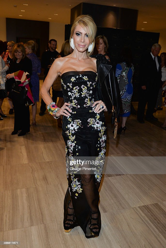 Sylvia Mantella attends the Believe In Fashion Presents Erdem at Arcadian Court on May 8, 2014 in Toronto, Canada.