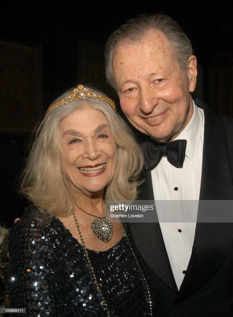 Sylvia Miles and Arthur Manson, Chair of The Acadeny's New York Events Committee