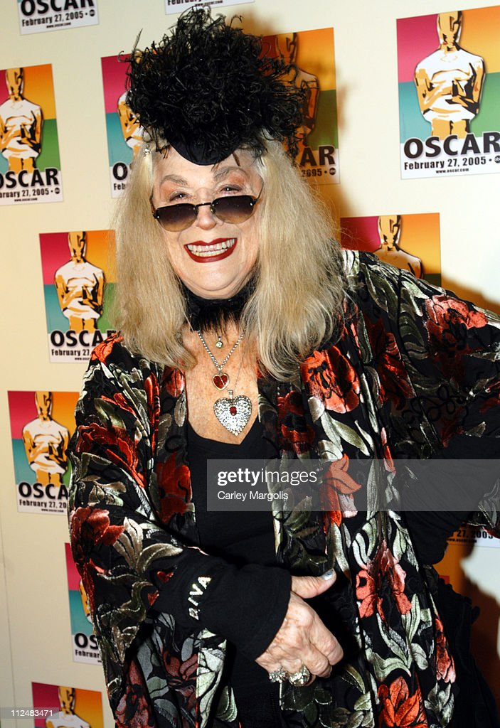Sylvia Miles during Official 2005 Academy of Motion Picture Arts & Sciences Oscar Night Party at Gabriel's at Gabriel's Restaurant and Bar in New York City, New York, United States.