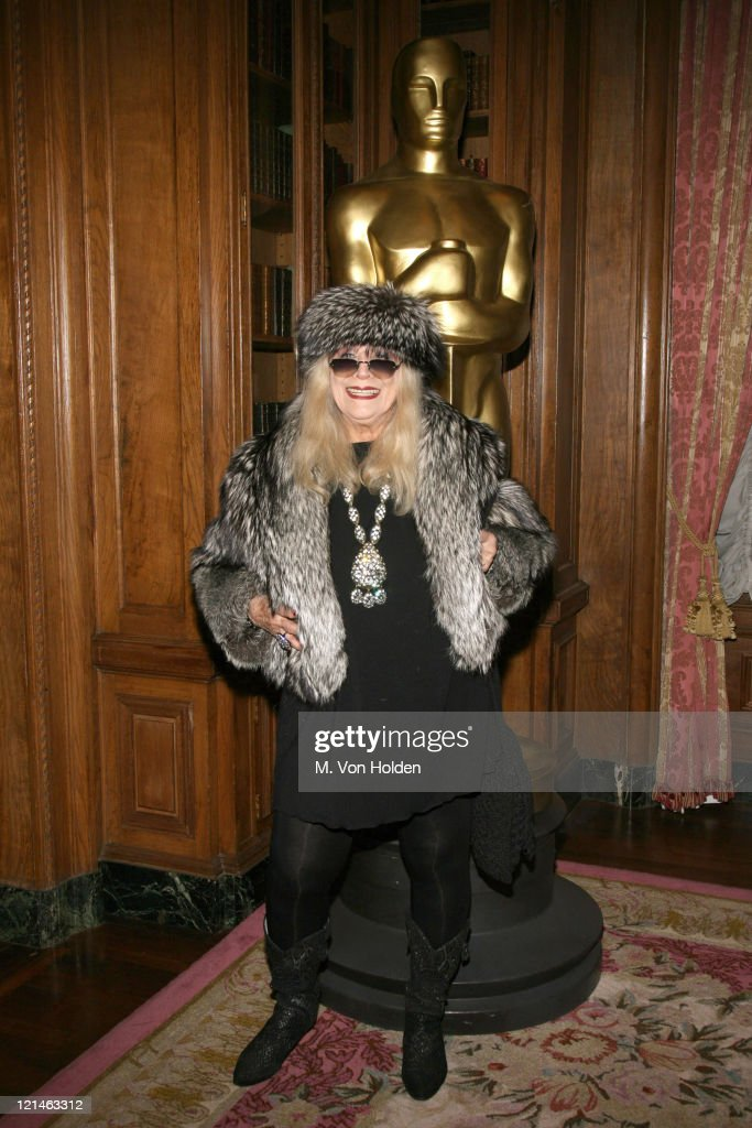 Sylvia Miles during The 78th Annual Academy Awards Official New York Party at St. Regis Hotel in New York City, New York, United States.