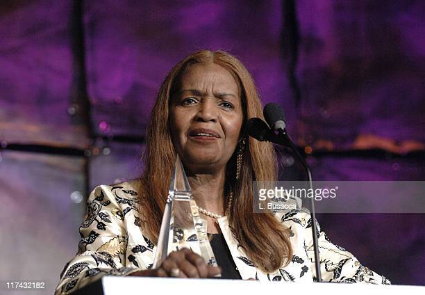 Sylvia Moy during 37th Annual Songwriters Hall of Fame Ceremony Show and Dinner at Marriott Marquis in New York City New York United States