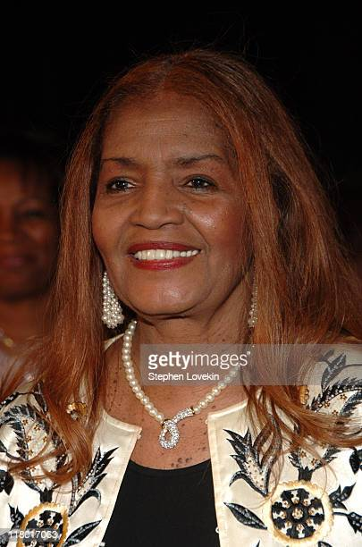Sylvia Moy inductee during 37th Annual Songwriters Hall of Fame Ceremony Arrivals at Marriott Marquis in New York City New York United States