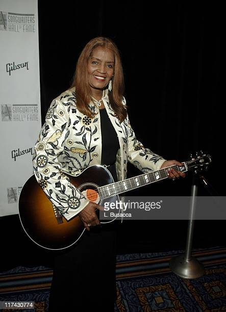 Sylvia Moy inductee during 37th Annual Songwriters Hall of Fame Ceremony VIP Cocktail Reception and Backstage at Marriott Marquis in New York New...