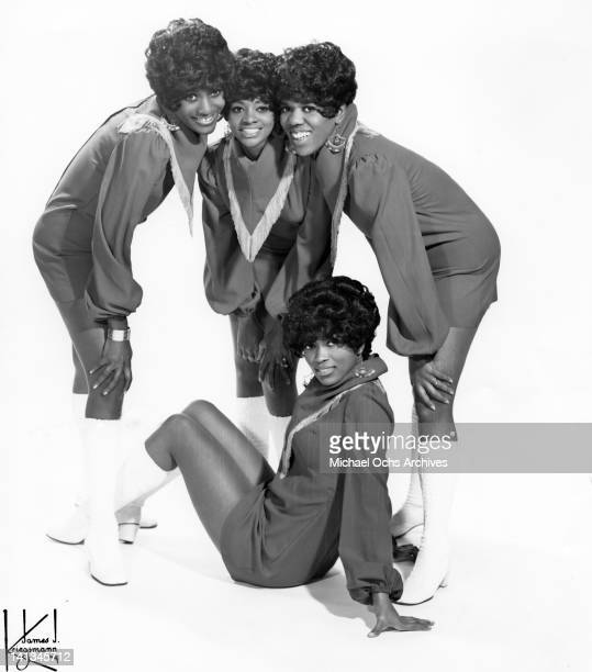 Sylvia Shemwell Cissy Houston Estelle Brown and Myrna Smith of the vocal group 'The Sweet Inspirations' pose for a portrait in circa 1967 in New York...