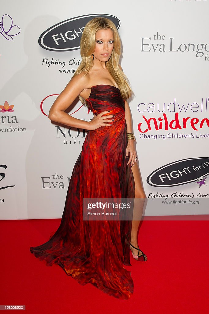 Sylvia Van Der Vaart attends the Noble Gift Gala at The Dorchester on December 8, 2012 in London, England.