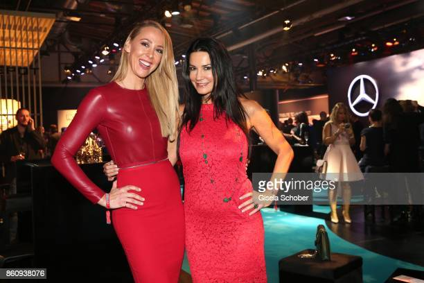 Sylvia Walker and Mariella Ahrens during the 'Tribute To Bambi' gala at Station on October 5 2017 in Berlin Germany