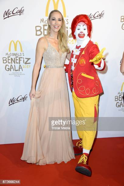 Sylvia Walker attends the McDonald's charity gala at Hotel Bayerischer Hof on November 10 2017 in Munich Germany