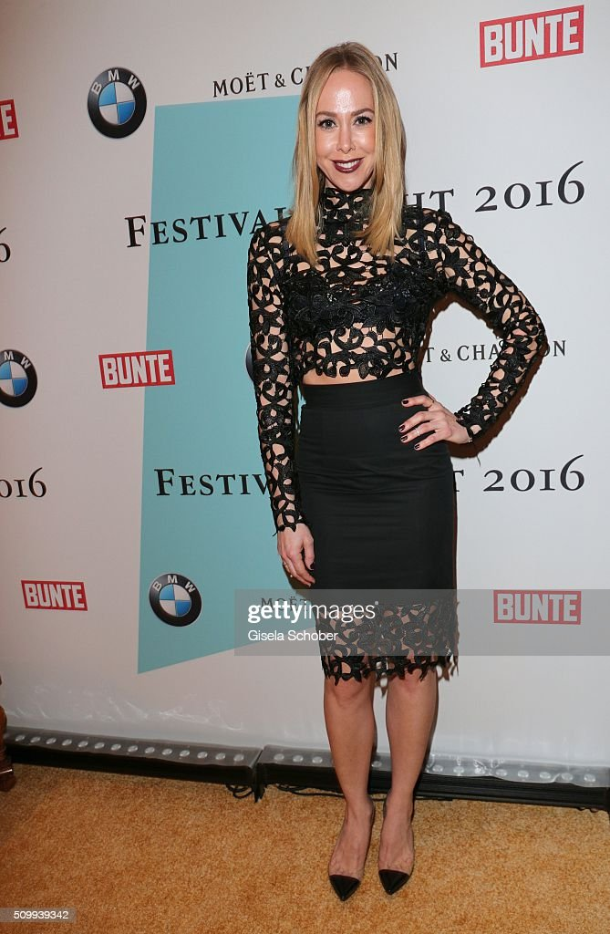 Sylvia Walker during the Bunte and BMW Festival Night 2016 during the 66th Berlinale International Film Festival Berlin on February 12, 2016 in Berlin, Germany.