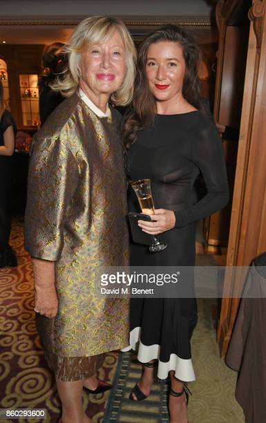 Sylvie Chantecaille and Jamie Beck attend a private dinner following the Warrior Games Exhibition VIP Preview hosted by HRH Princess Eugenie Waris...