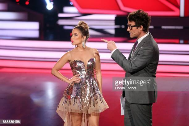 Sylvie Meis and Daniel Hartwich during the 10th show of the tenth season of the television competition 'Let's Dance' on May 26 2017 in Cologne Germany
