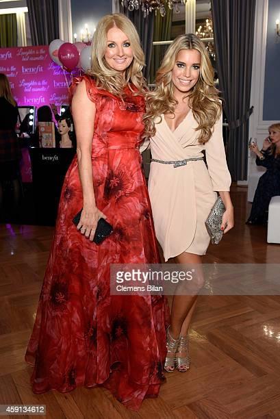 Sylvie Meis and Frauke Ludowig attend the Deichmann Shoe Step of the Year 2014 at Atlantic Hotel on November 17 2014 in Hamburg Germany