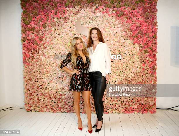 Sylvie Meis and Susanne Tebartz during the 'Sylvie Flirty Designs' Launch at Lux Studio on September 27 2017 in Hamburg Germany
