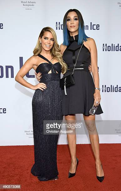 Sylvie Meis and Verona Pooth attend the Holiday On Ice Gala 'Believe' at the hotel Atlantic on September 29 2015 in Hamburg Germany