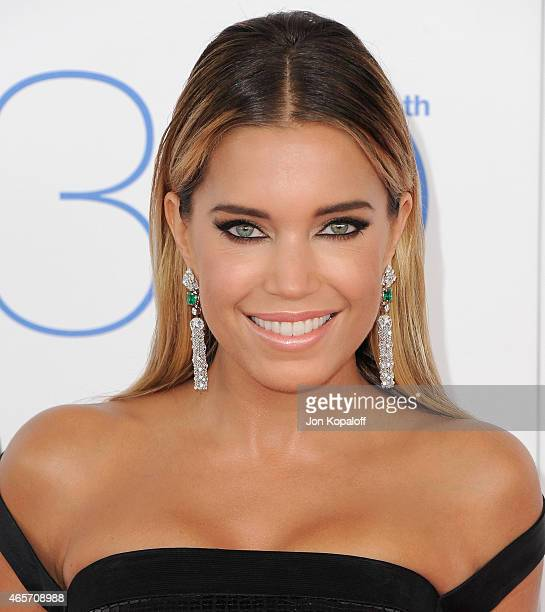 Sylvie Meis arrives at the 2015 Film Independent Spirit Awards on February 21 2015 in Santa Monica California