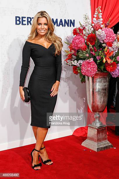 Sylvie Meis attends the Bertelsmann Summer Party at the Bertelsmann representative office on September 10 2014 in Berlin Germany