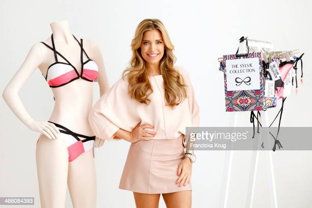Sylvie Meis attends the Hunkemoeller Swimwear Launch at The Apartment on January 31 2014 in Berlin Germany