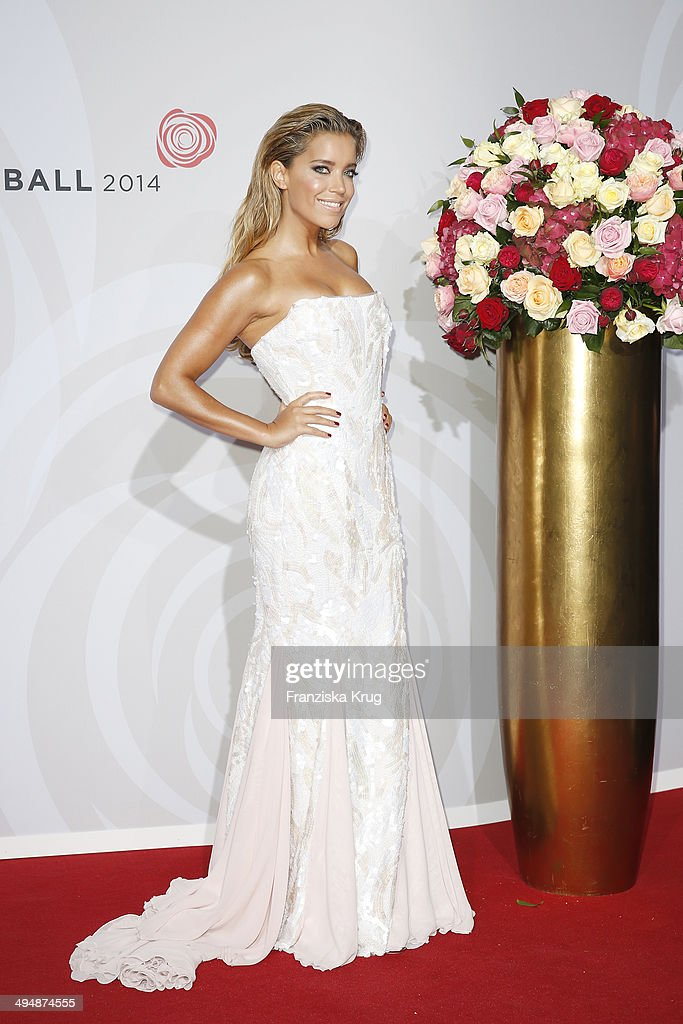 <a gi-track='captionPersonalityLinkClicked' href=/galleries/search?phrase=Sylvie+Meis&family=editorial&specificpeople=538310 ng-click='$event.stopPropagation()'>Sylvie Meis</a> attends the Rosenball 2014 on May 31, 2014 in Berlin, Germany.