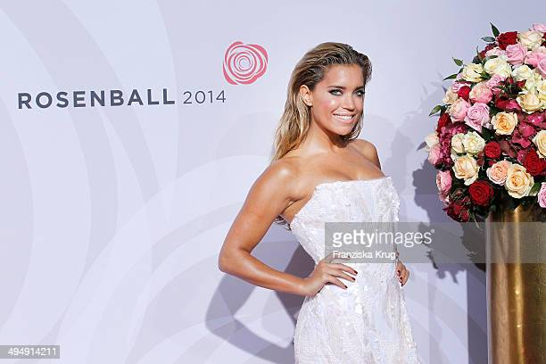 Sylvie Meis attends the Rosenball 2014 on May 31 2014 in Berlin Germany