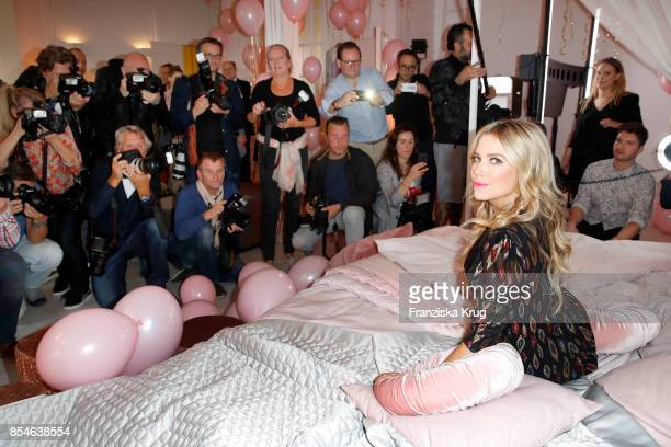 Sylvie Meis during the 'Sylvie Flirty Designs' Launch at Lux Studio on September 27 2017 in Hamburg Germany