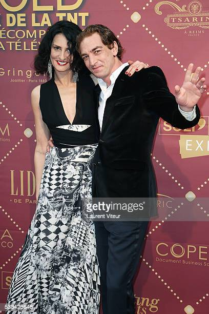 Sylvie Ortega and Ludovic Chancel attend the 'Gold Prix De La TNT' Award Ceremony at Theatre Bobino on June 6 2016 in Paris France