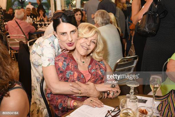 Sylvie Ortega Munos and Nicoletta attend La Fete des Tuileries on June 23 2017 in Paris France