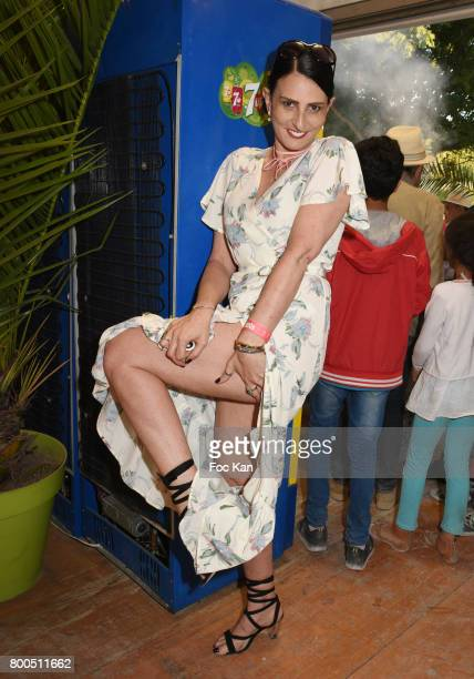 Sylvie Ortega Munos attends La Fete des Tuileries on June 23 2017 in Paris France