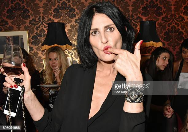 Sylvie Ortega Munoz attends Julie Jardon 22 years Anniversary Party at Club des Princesses on November 26 2016 in Paris France