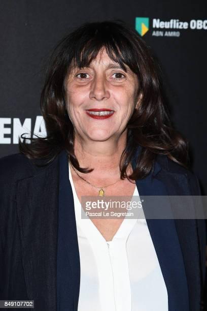Sylvie Pialat attends 'Happy End' Paris Premiere at la cinematheque on September 18 2017 in Paris France