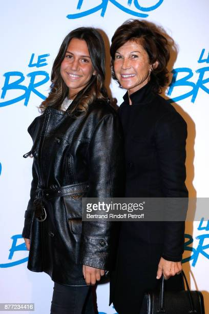 Sylvie Rousseau and her daughter Constance Ayache attend the 'Le Brio' movie Premiere at Cinema Gaumont Opera Capucines on November 21 2017 in Paris...